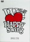 Copertina di 'HAPPY SWING 15th Anniversary SPECIAL LIVE ~We♥(Love) Happy Swing~ in MAKUHARI 2011.7.31'