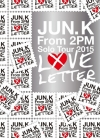 Copertina di 'Jun. K (From 2PM) Solo Tour 2015 ''LOVE LETTER'' in MAKUHARI MESSE [Limited Edition]'