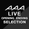 Copertina di 'AAA LIVE SET LIST ''opening/ending Collection'''