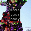 Copertina di 'move your body / Onomatope Daijin & tofubeats'