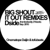 Copertina di 'BIG SHOUT IT OUT REMIXES - Tside'