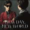 Copertina del DVD di 'NEW DAY, NEW WORLD'