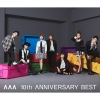Copertina del DVD di 'AAA 10th ANNIVERSARY BEST'