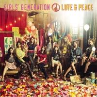 Coperdina di LOVE&PEACE  - Girls' Generation