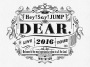 Hey! Say! JUMP - LIVE TOUR 2016 DEAR. [Limited Edition]